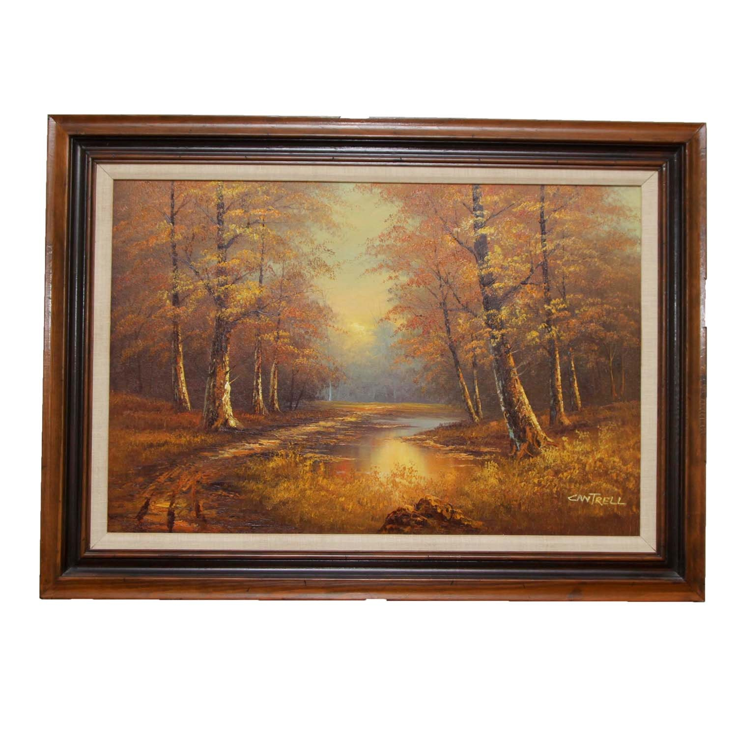 Phillip Cantrell Original Oil Landscape Painting