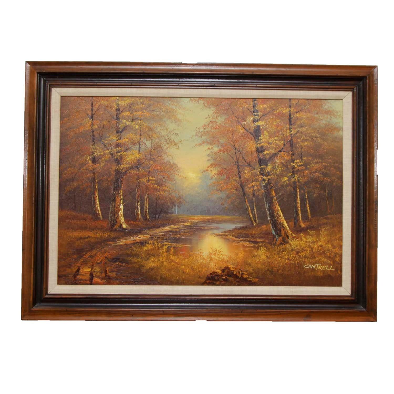 Phillip Cantrell Original Oil Landscape Painting