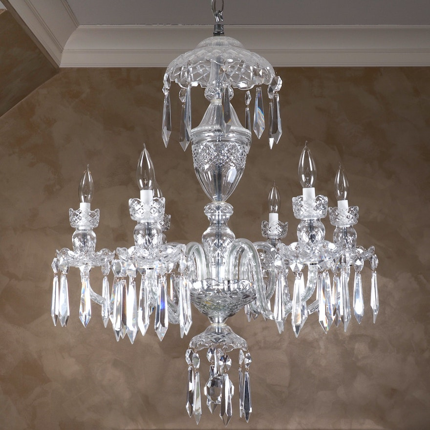 Vintage waterford crystal chandelier 1970s ebth vintage waterford crystal chandelier 1970s aloadofball Images