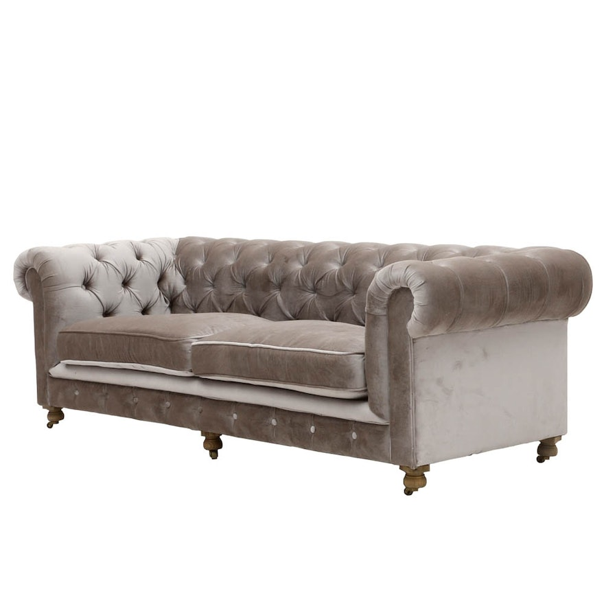 Kensington Tufted Sofa By Restoration Hardware
