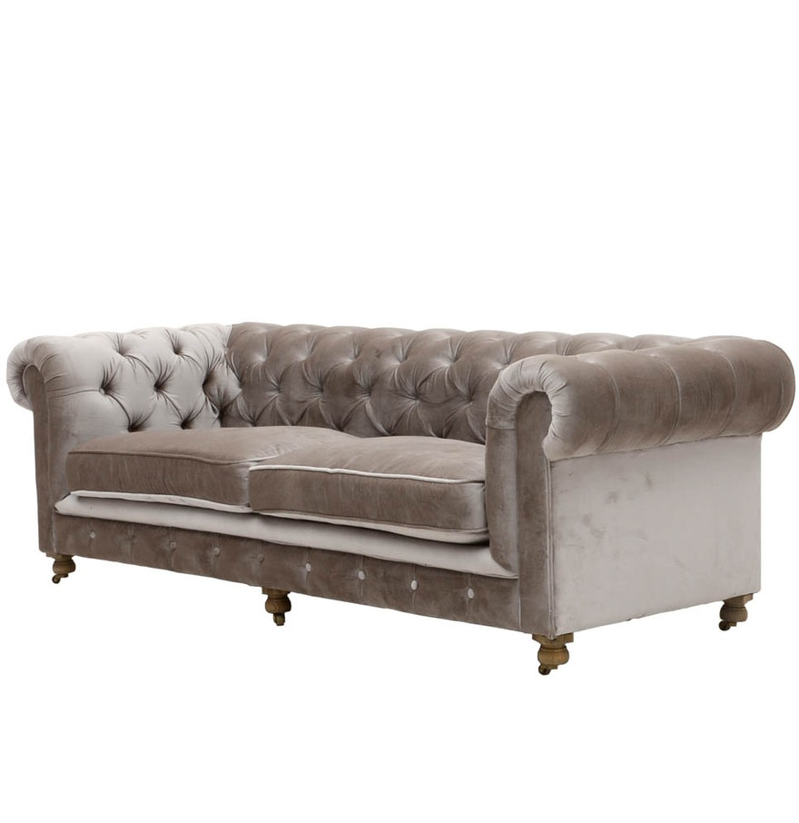 kensington tufted sofa by restoration hardware ebth With restoration hardware tufted sectional sofa