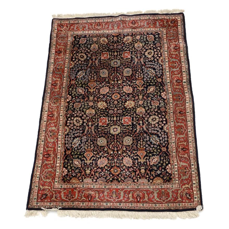 Indian Hand Woven Wool Rug