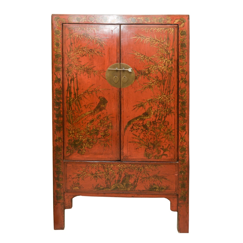 20th Century Chinoiserie Two-Door Cabinet