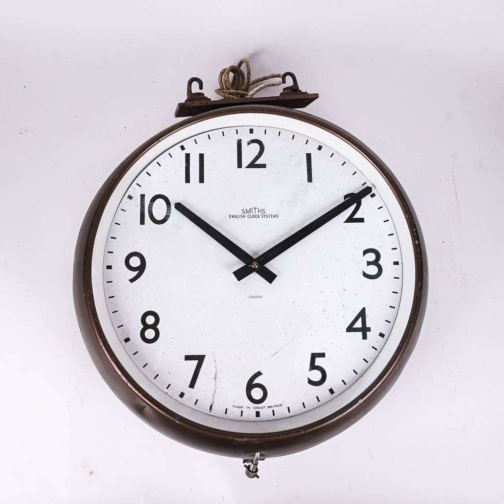 Vintage English Wall Clock