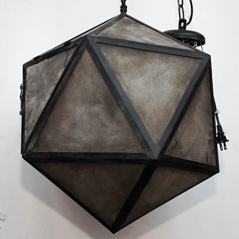 Geometric Polyhedron Pendant Lamp