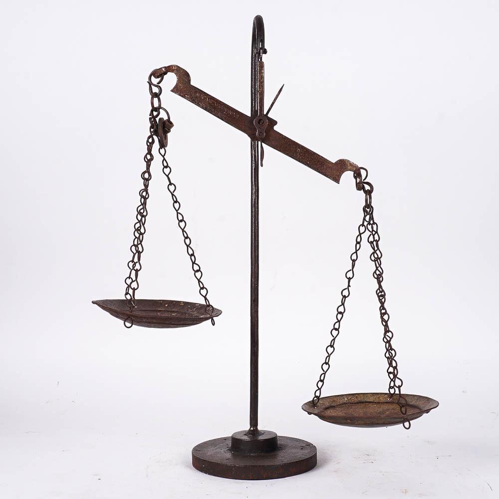 Vintage Iron Balance Scales