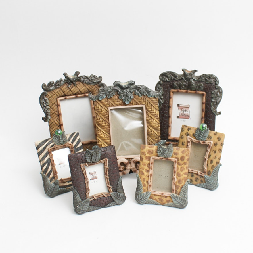 Assortment of African Inspired Picture Frames : EBTH