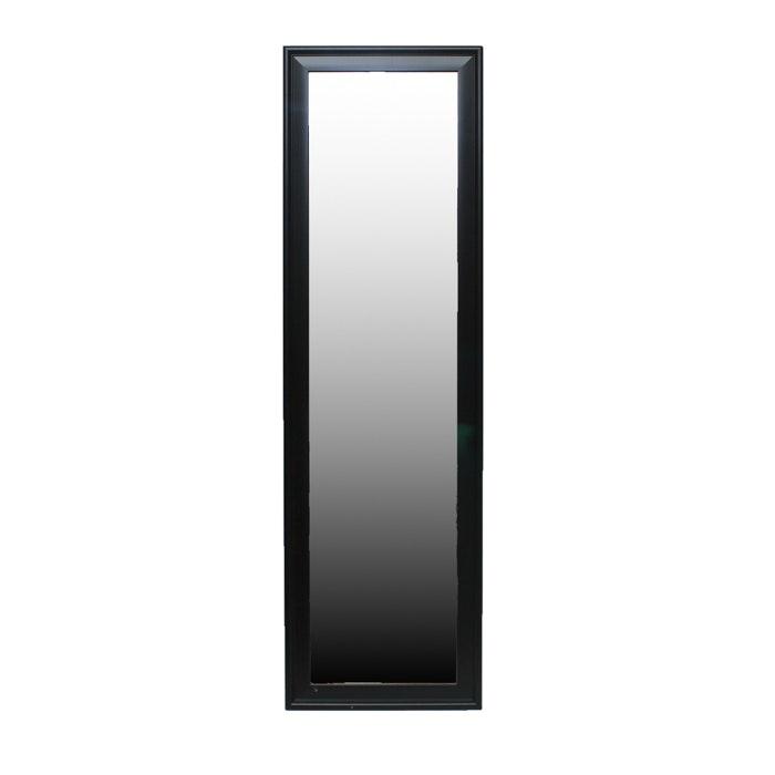 Black Rectangular Free Standing Mirror Ebth