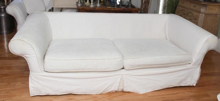 H M Richards Sofa With Slip Cover Ebth