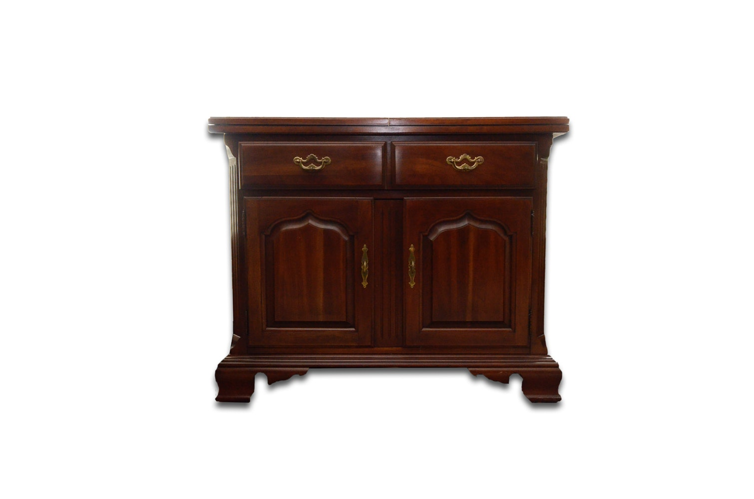 federal style cherry dining room buffet by thomasville ebth