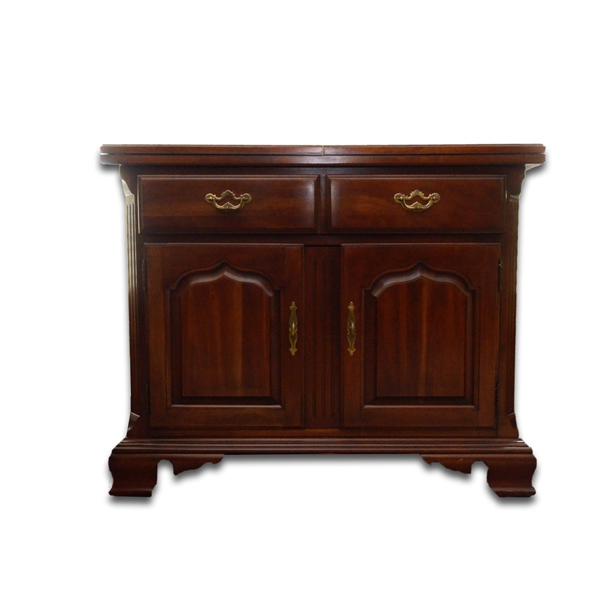 Thomasville Cherry Dining Room Set: Federal Style Cherry Dining Room Buffet By Thomasville