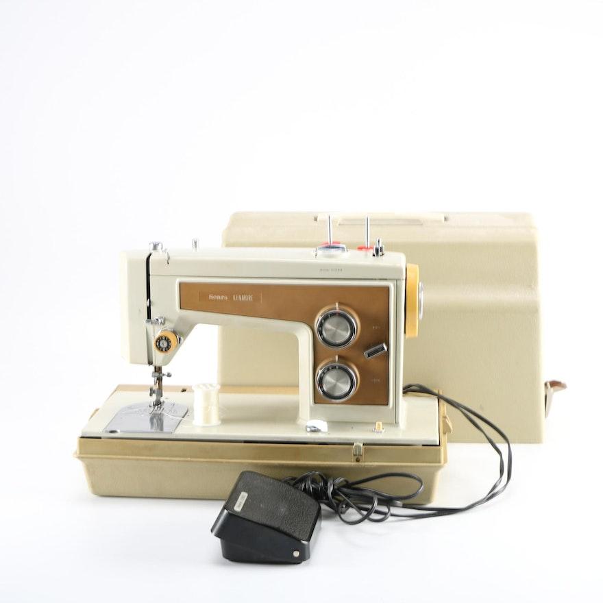 Vintage Sears 'Kenmore Sewing Machine EBTH Inspiration How To Thread A Vintage Kenmore Sewing Machine