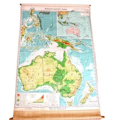 Vintage Maps For Sale Antique Maps For Sale Framed Map Auction - Antique maps for sale australia