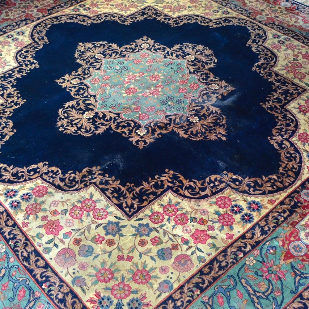 Handwoven Kerman Area Rug