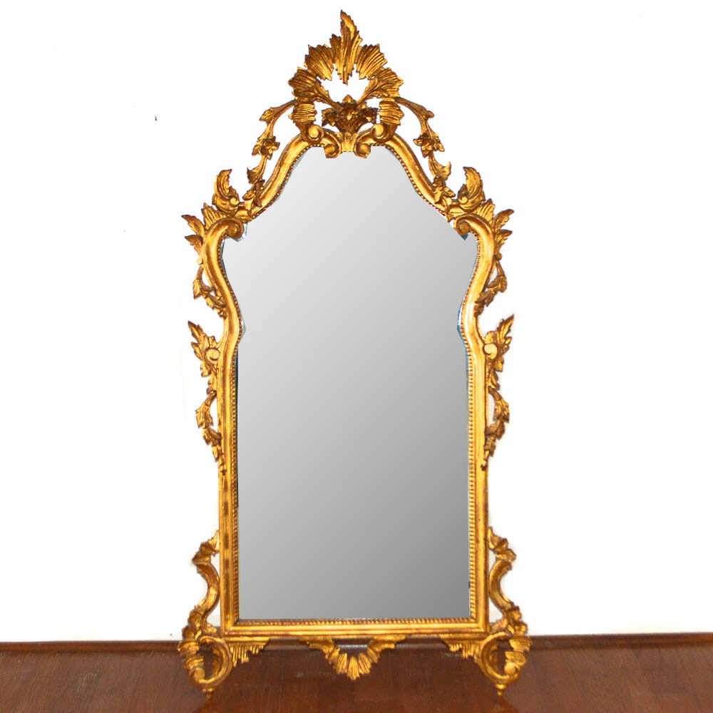 Carved Gilt Wall Mirror