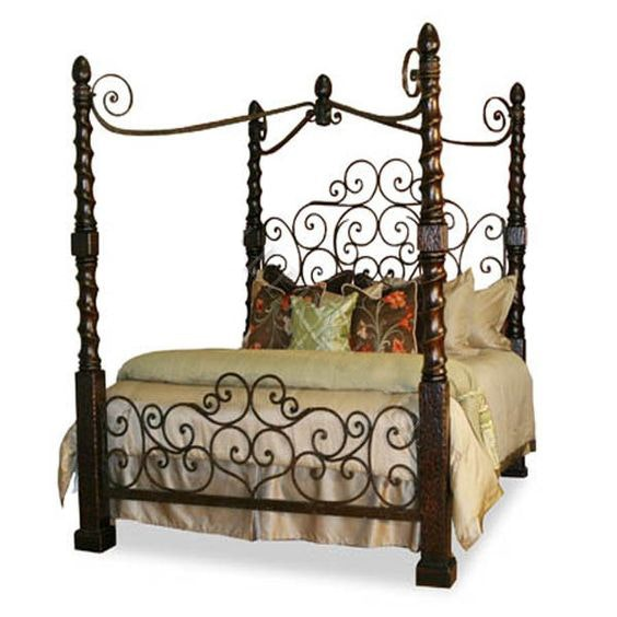 Broyhill Quot Fontana Quot King Size Bed Distressed Pine Ebth