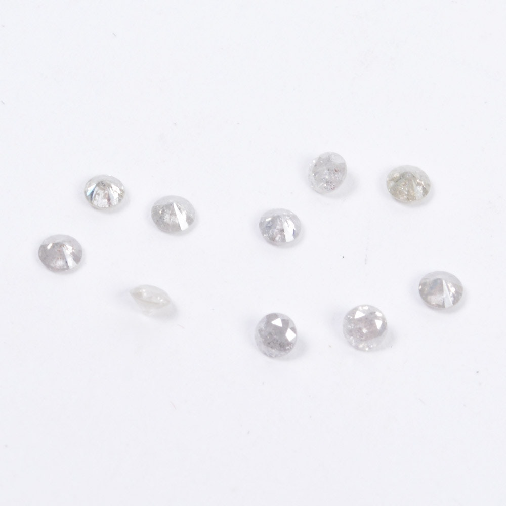 0.76 CTW of Loose Diamonds