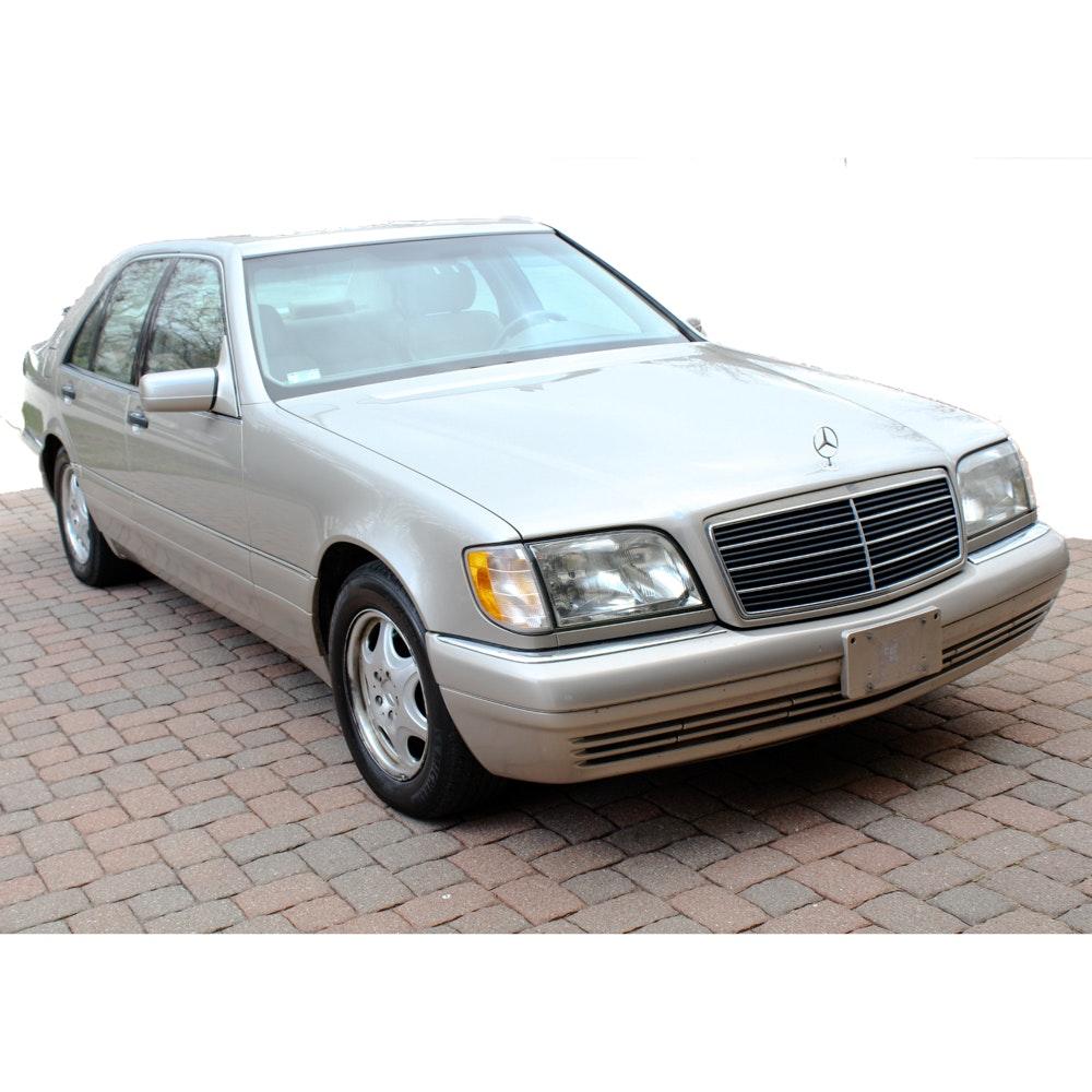 1999 mercedes benz s320 luxury sedan ebth for 1999 s320 mercedes benz