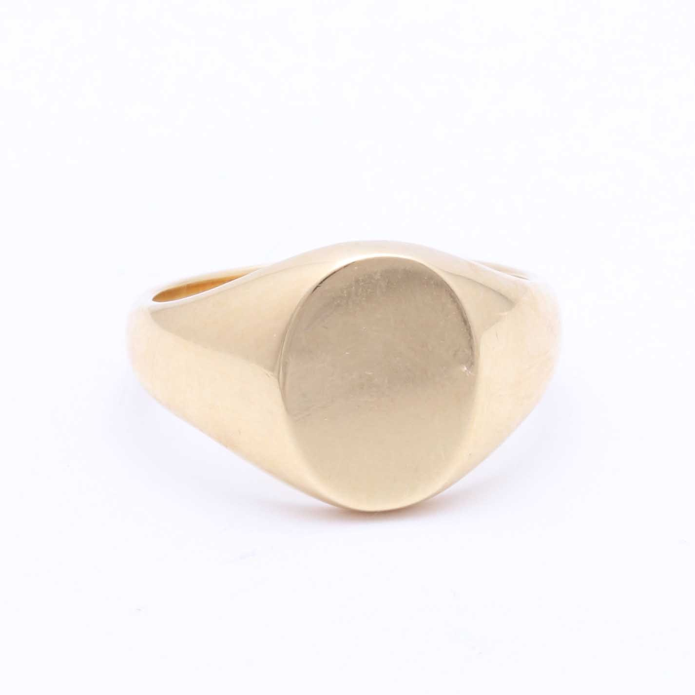 Tiffany & Co. 18K Yellow Gold Signet Ring