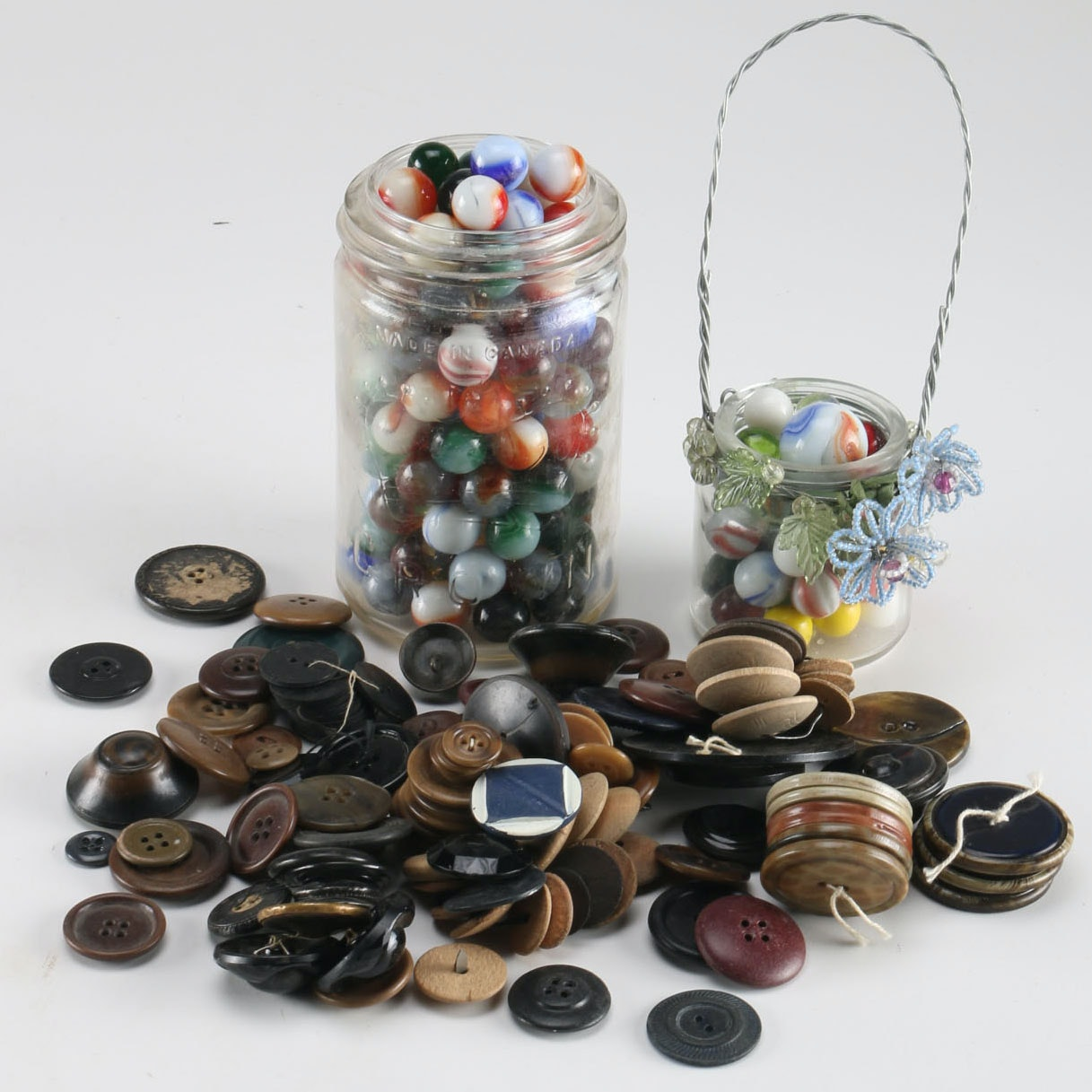 Marbles and Buttons