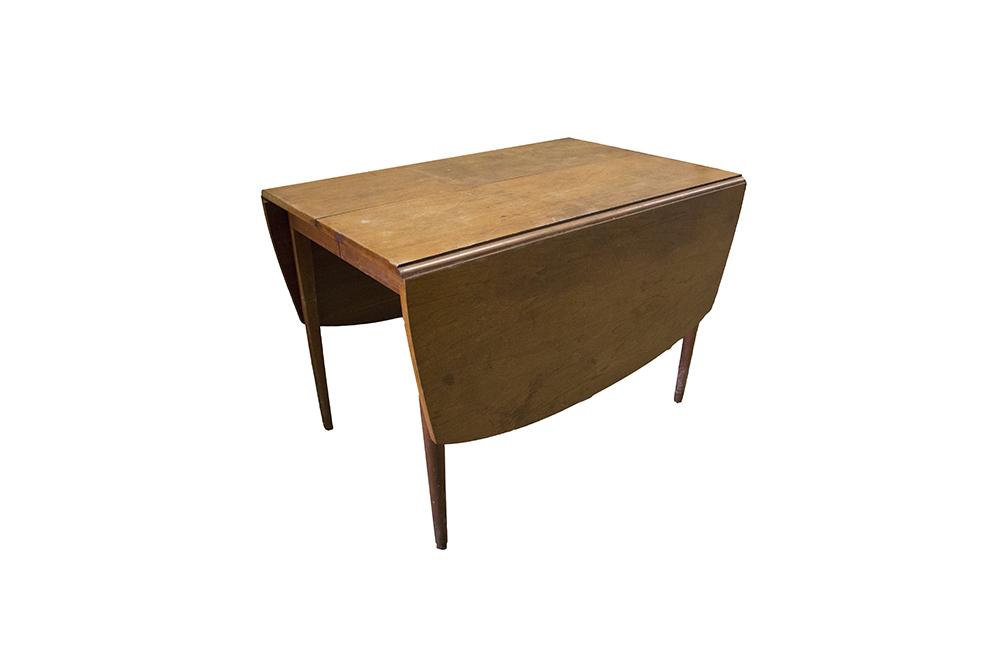 Danish Modern Style Teak Drop Leaf Dining Table by Drexel EBTH