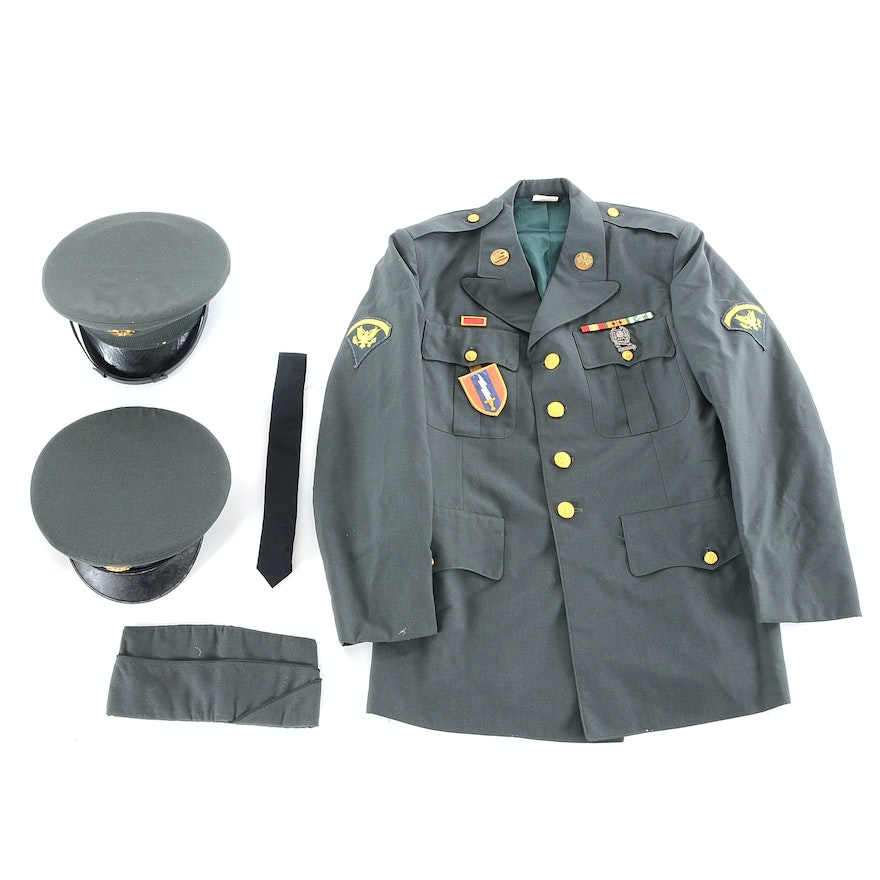 Vietnam Army Jacket with Hats   EBTH 6a20b4bc554
