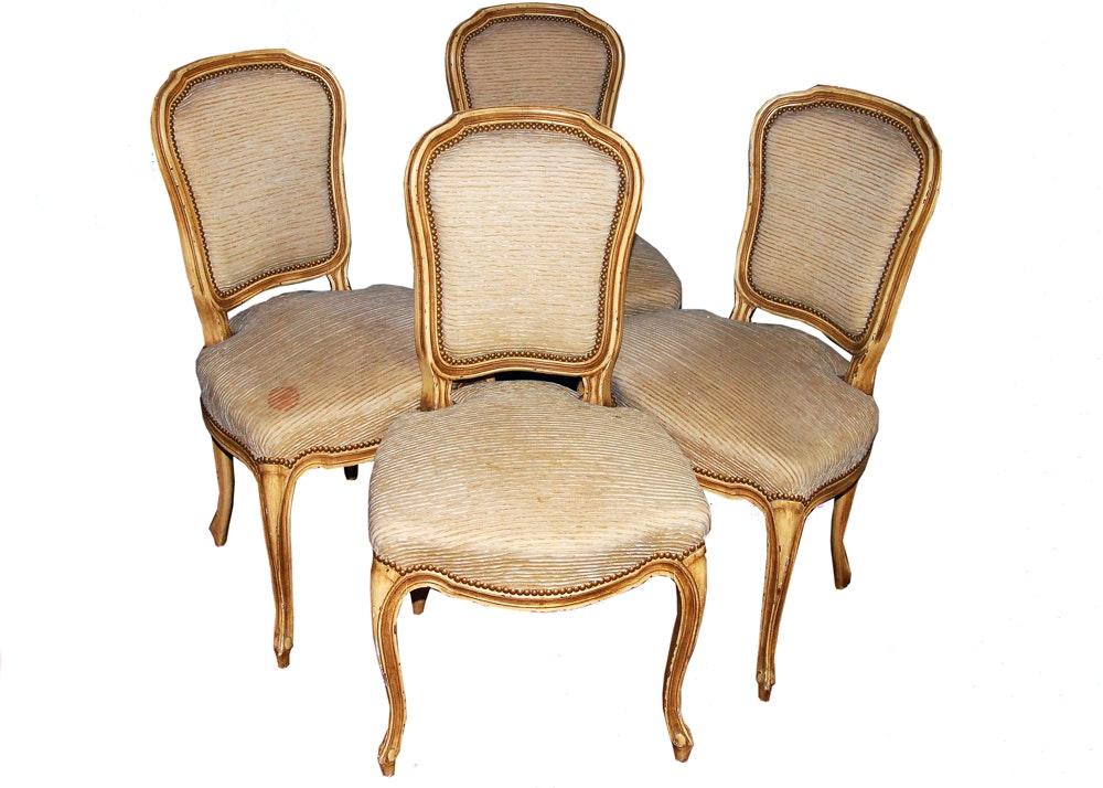Louis XV Style Balzarotti Chairs