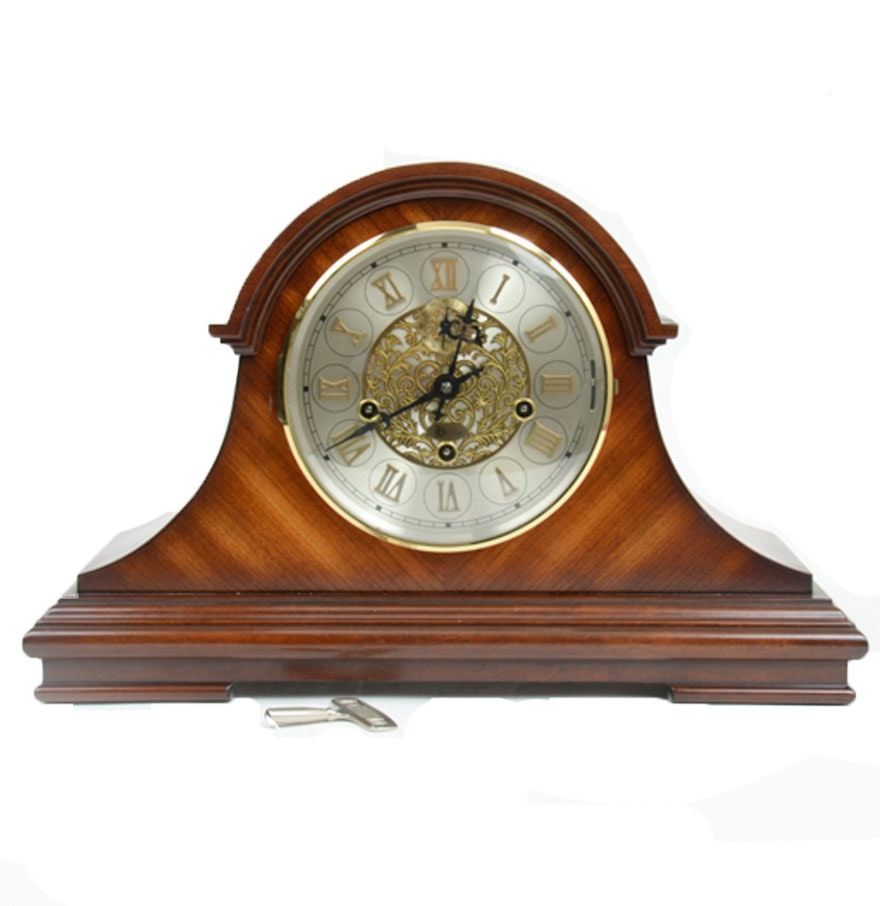 Heritage Heirlooms Mantel Clock with Jauch Movement