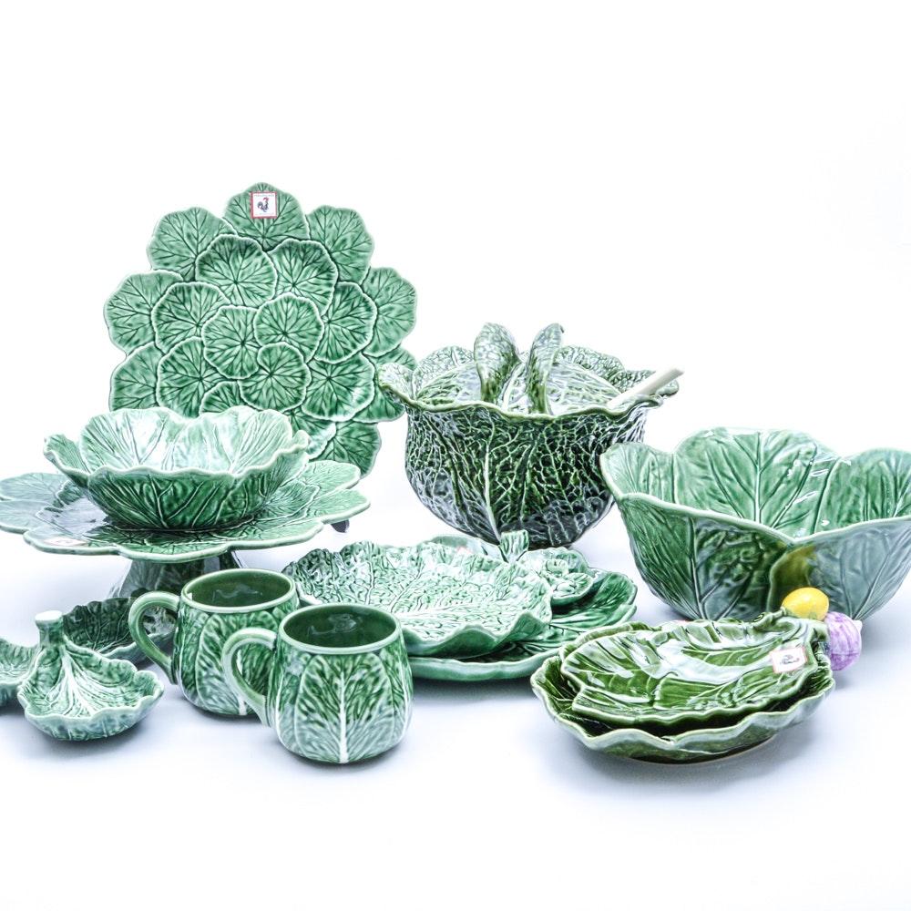 Bordallo Pinheiro and Olfaire  Cabbage  Tableware ...  sc 1 st  EBTH.com & Bordallo Pinheiro and Olfaire