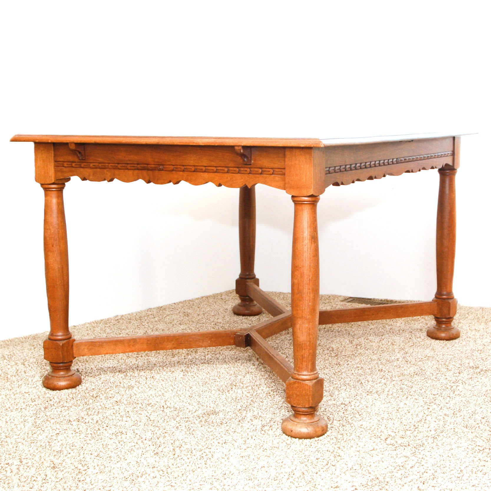 Antique Extension Dining Table