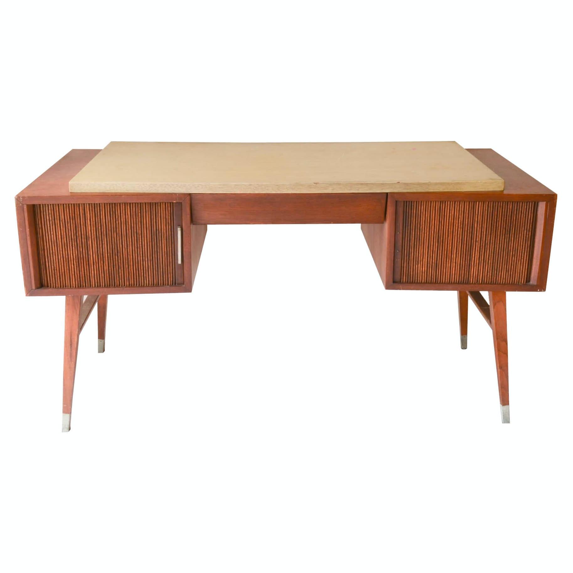 mid century modern desk by sligh