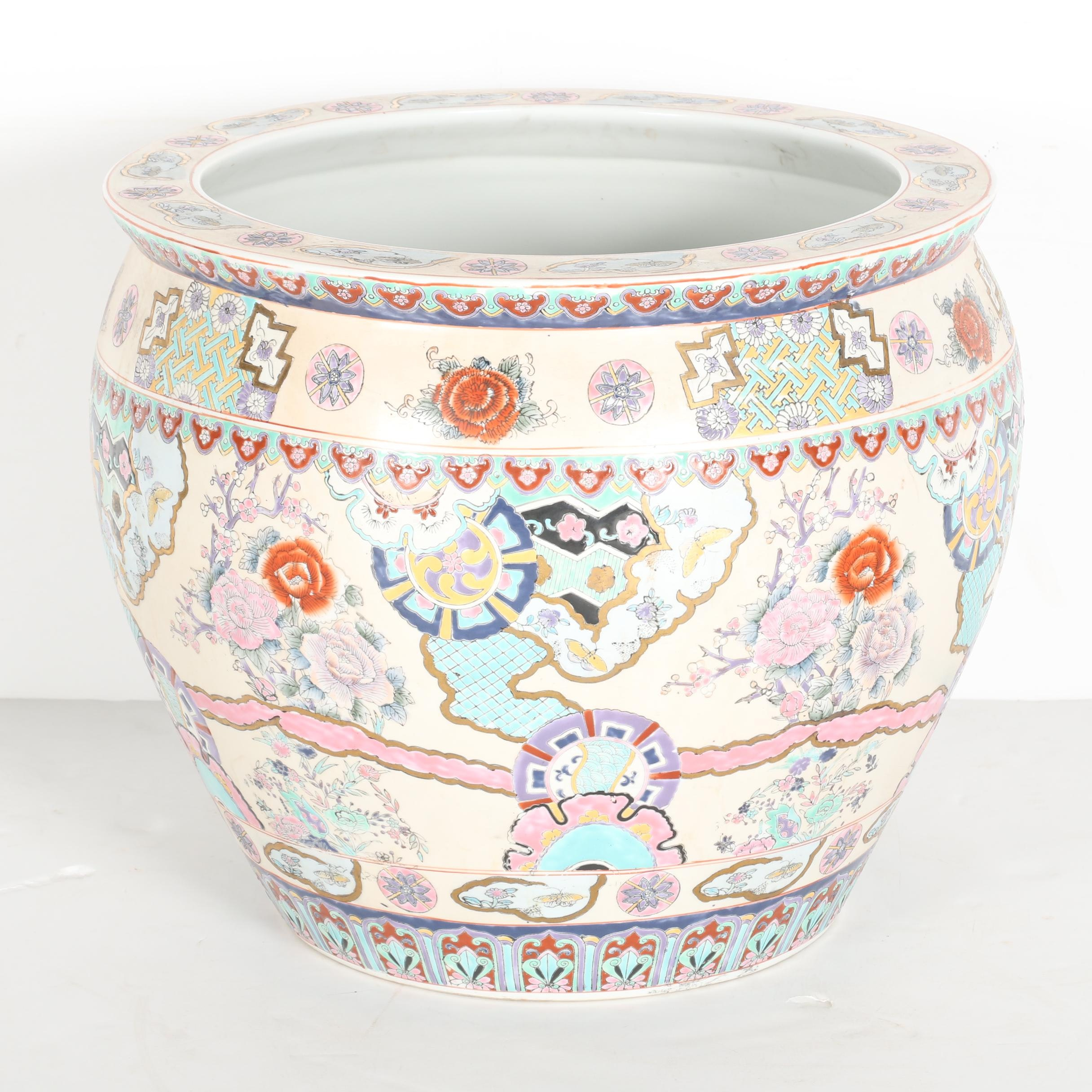 Chinese Ceramic Planter