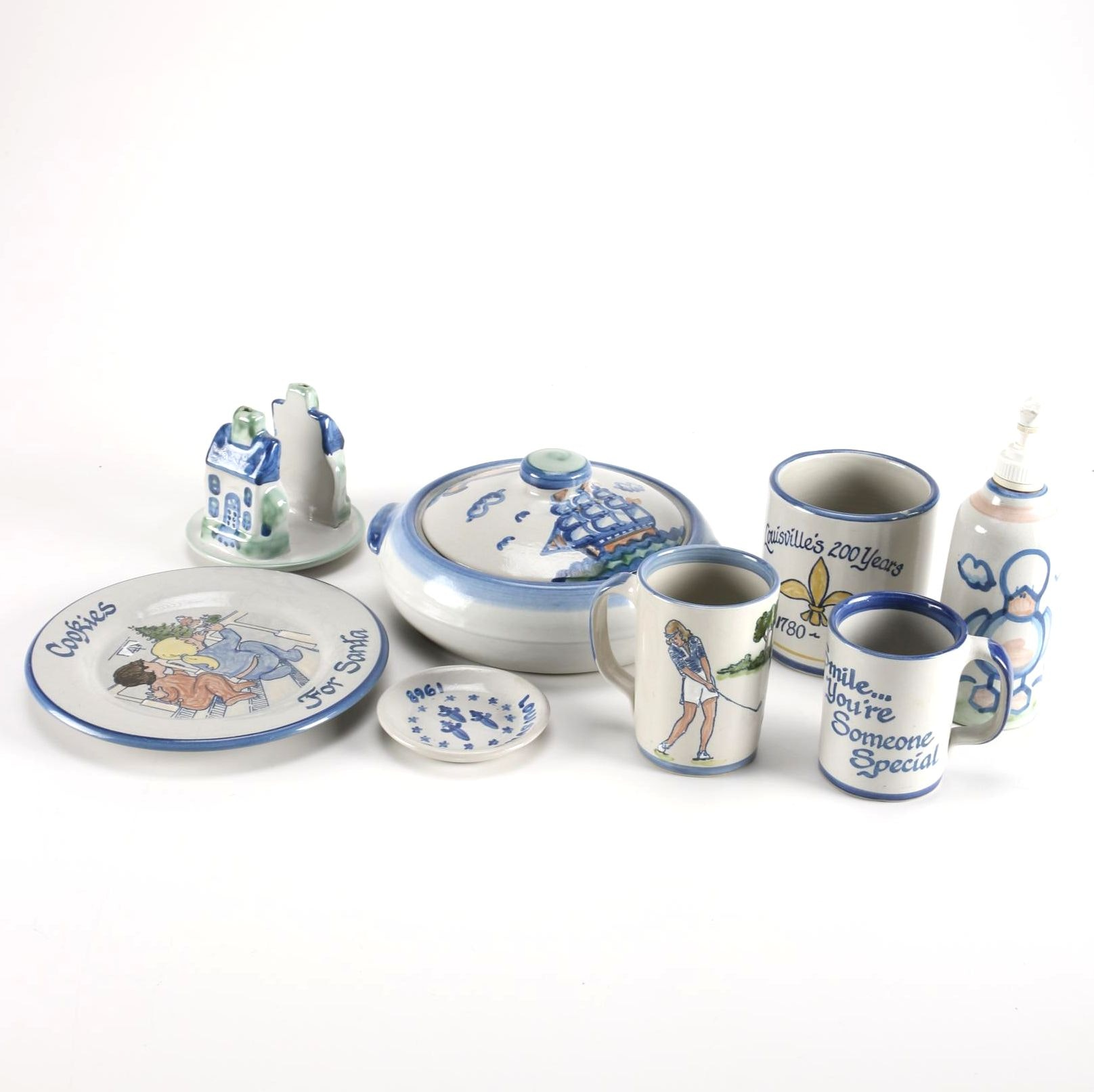 Hadley and Louisville Stoneware