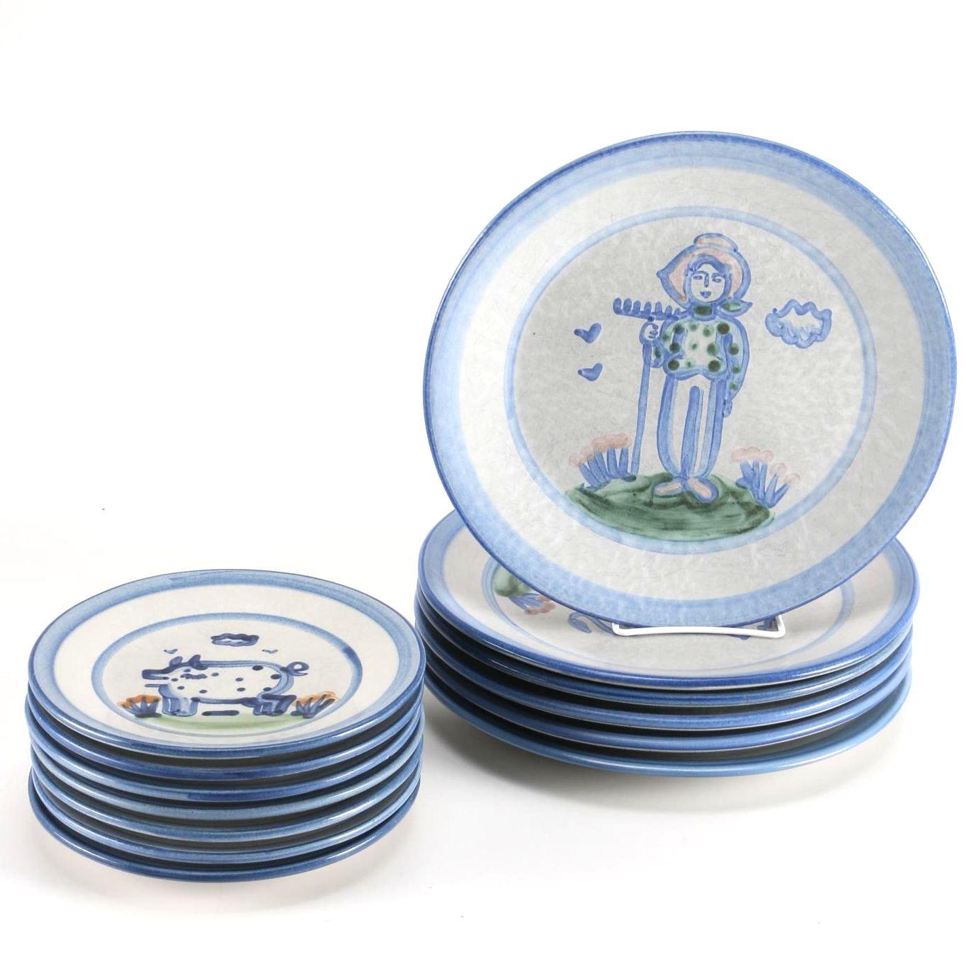 Hadley Pottery Plates