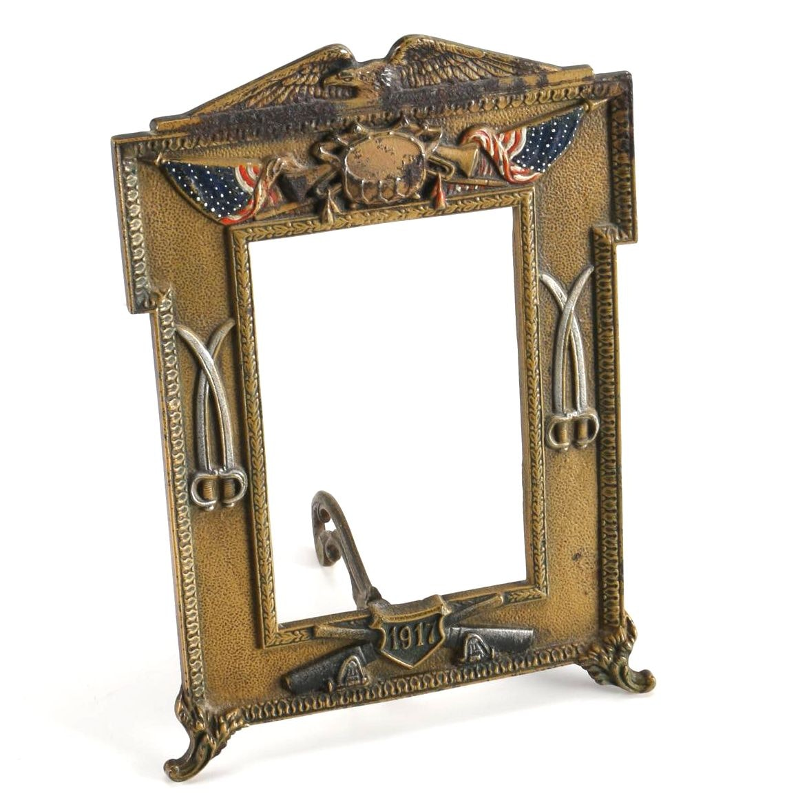 Early 20th Century Patriotic Picture Frame