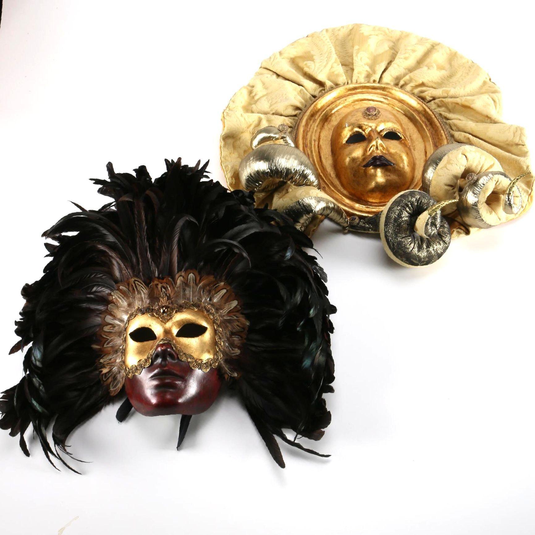 Pair of Elaborate Masks