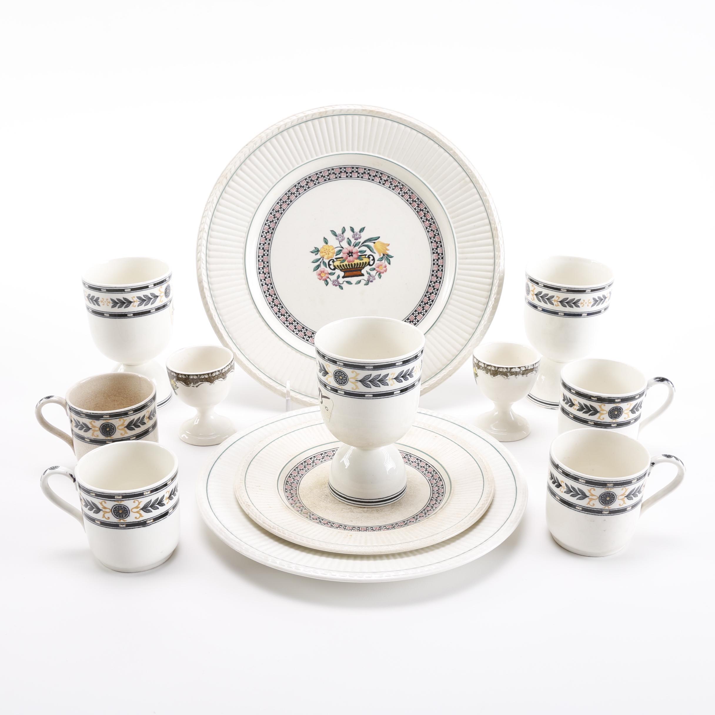 China Tableware Featuring Trentham Wedgwood