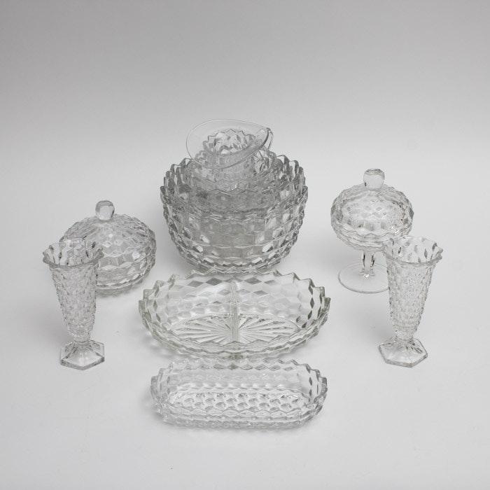 "Fostoria ""American"" Glassware Set"