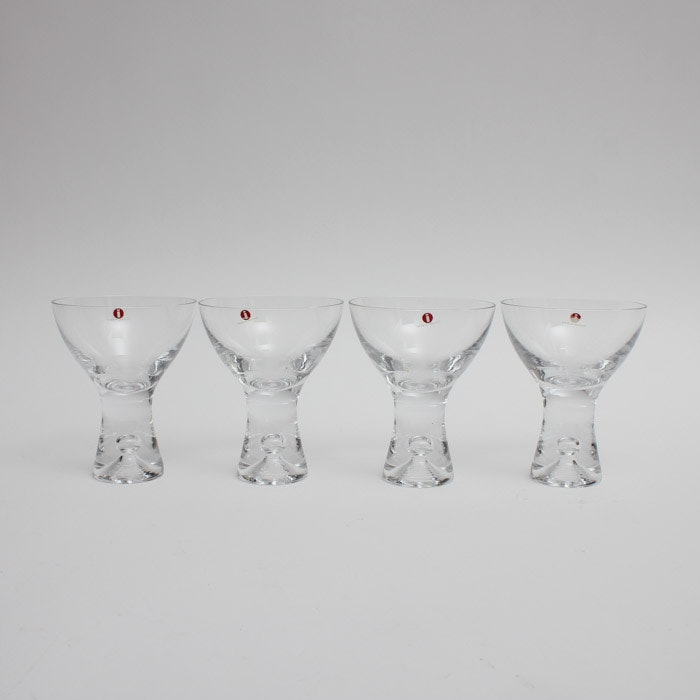 Iittala Tapio Champagne Sherbet Glass Set of Four