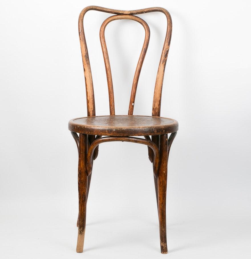 Austrian Antique Thonet Style Bentwood ChairEBTH