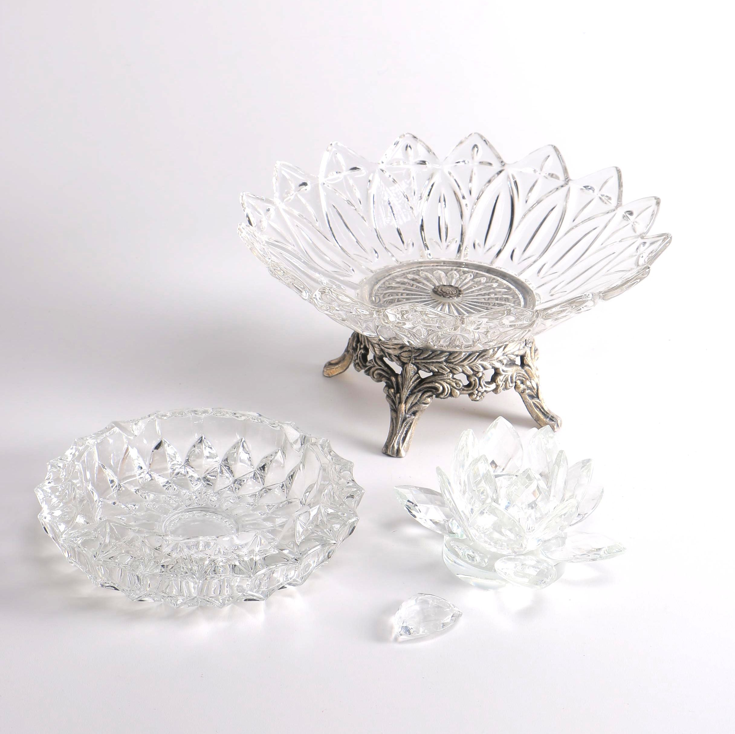 Pressed Glass Tableware
