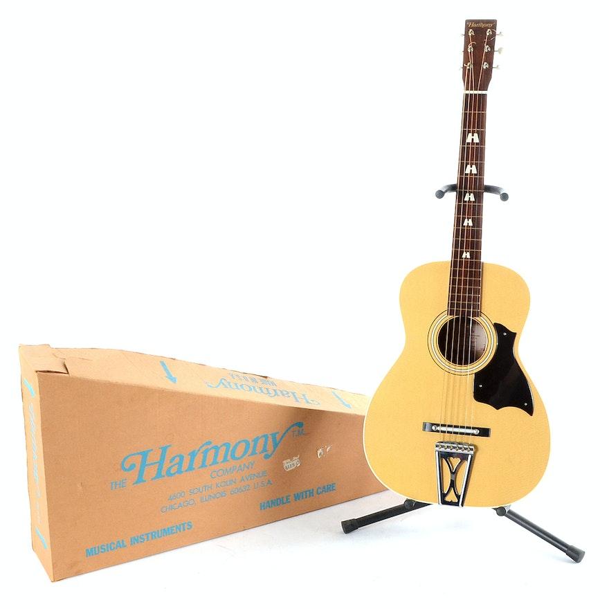 B & B Auto Sales >> Harmony Stella Model Parlor Acoustic Guitar | EBTH