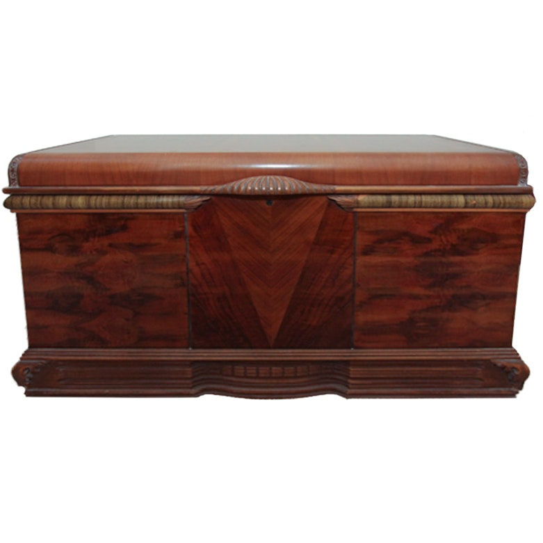 Art Deco Style Cedar Chest