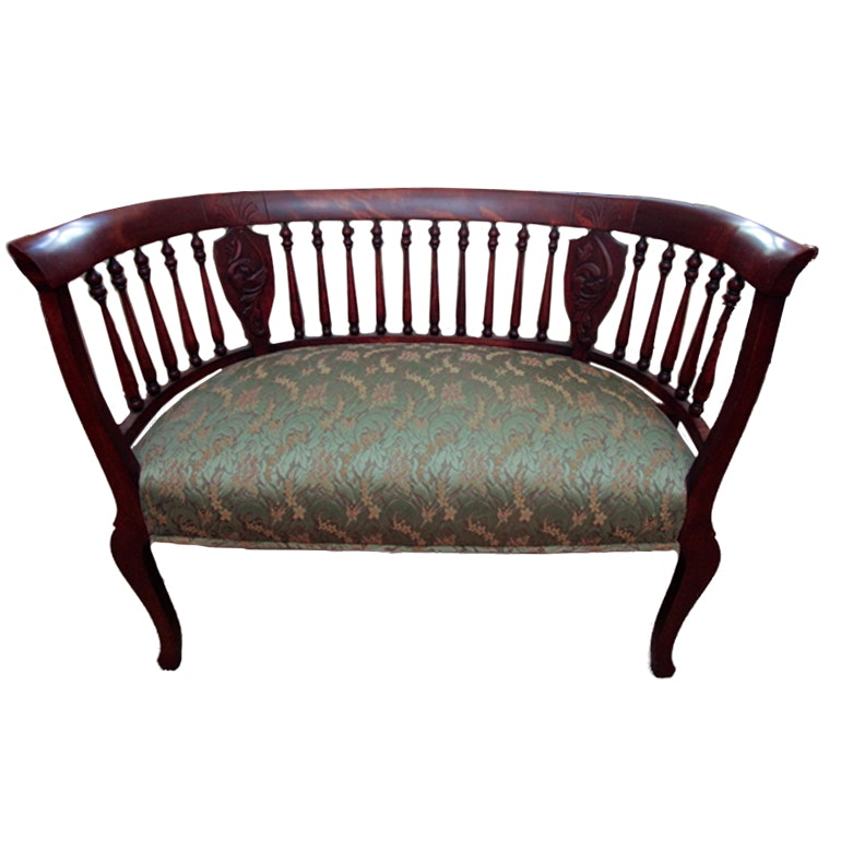Antique Edwardian Style Settee