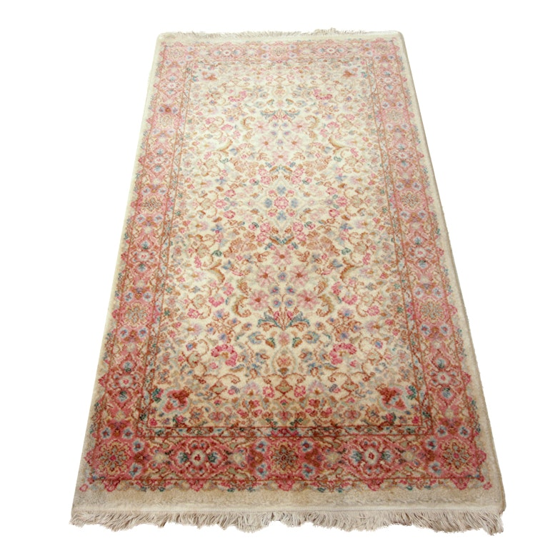 "Machine Woven Karastan ""Kirman"" Area Rug"