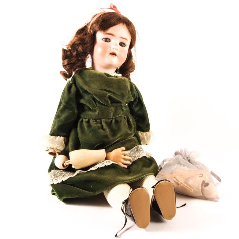 Simon & Halbig Porcelain Doll