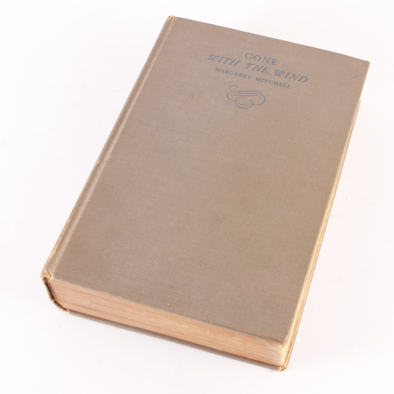 "First Edition First Printing of ""Gone With the Wind"" by Margaret Mitchell"