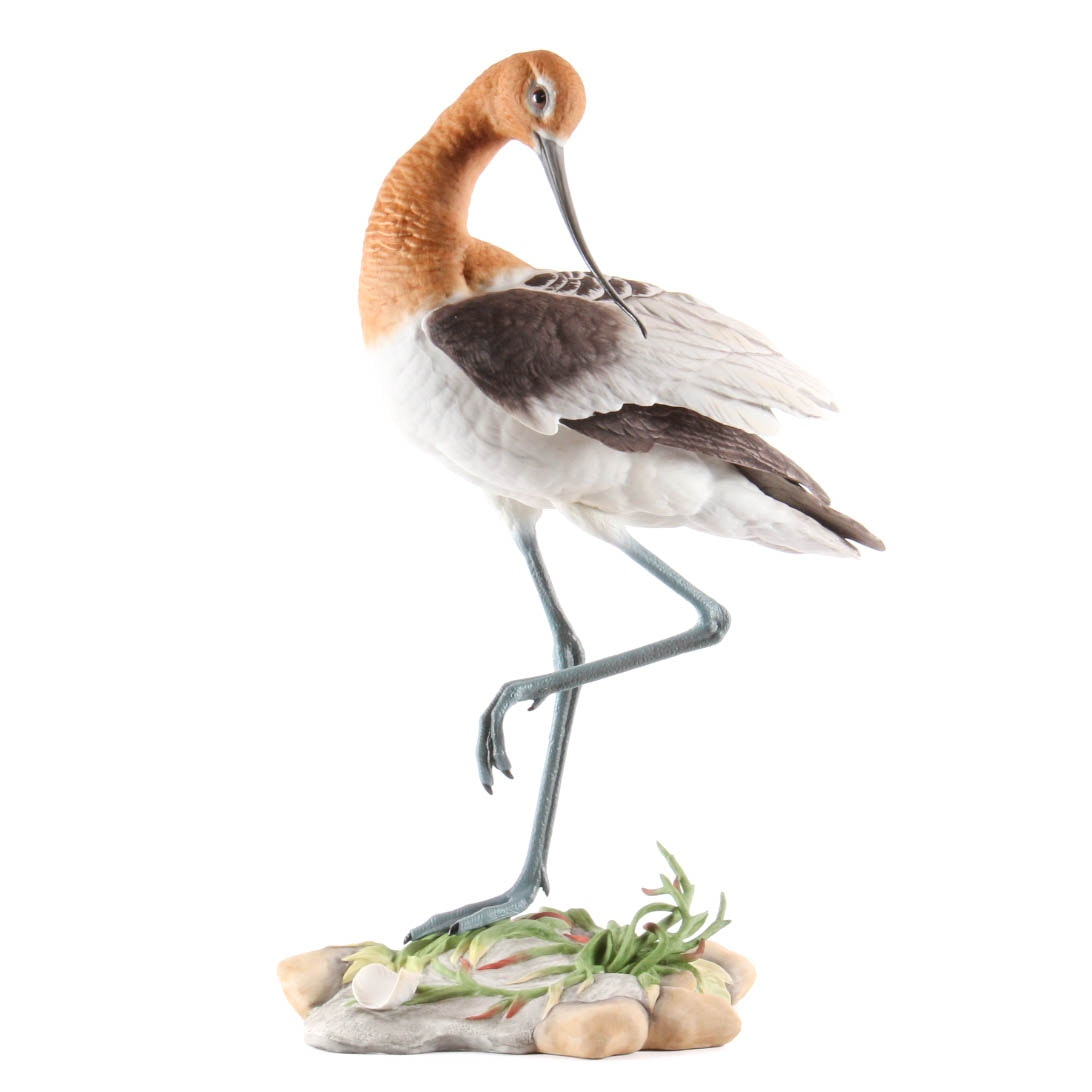 "Numbered Boehm ""American Avocet"" Porcelain Figurine"