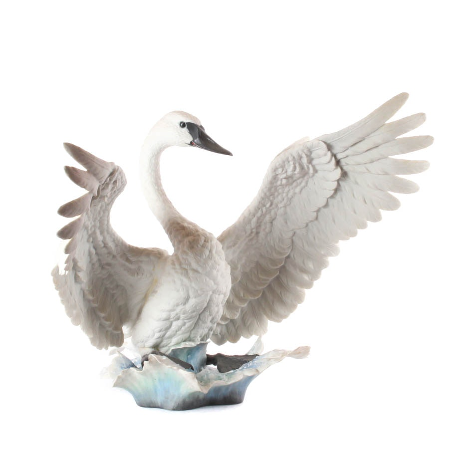 "Boehm Limited Edition Figurine ""Trumpeter Swan"""