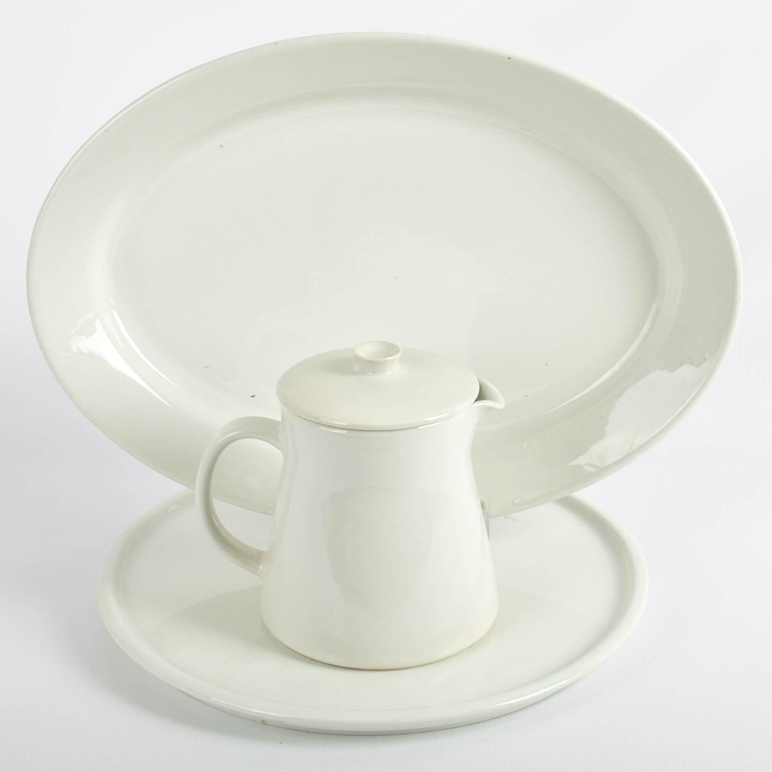 Vintage Arabia of Finland White China Tableware